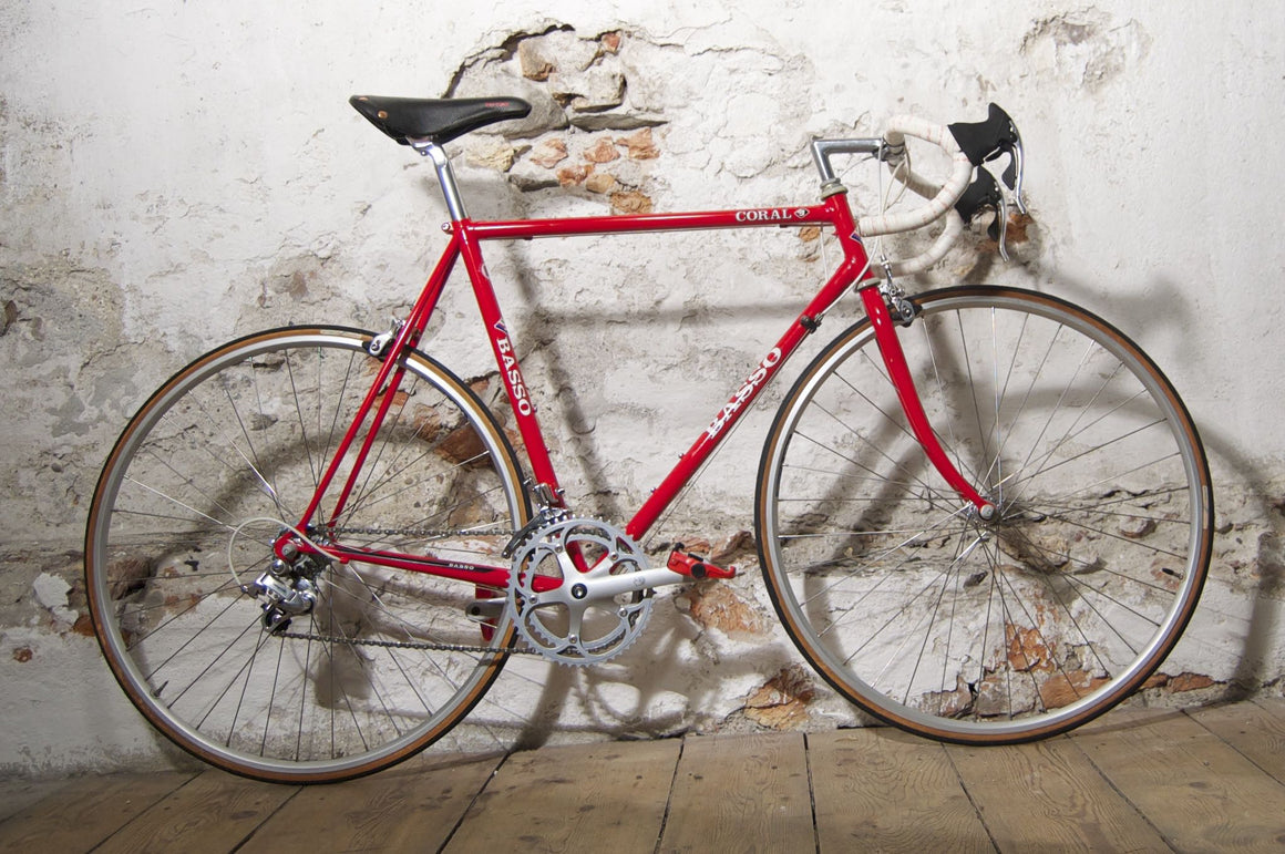 NEW Basso Coral red
