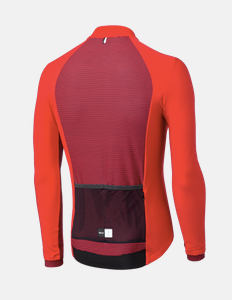 Pedaled: Essential Longsleeve Jersey Orange