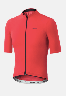 Pedaled: Shibuya Lightweight Kurzarm Jersey orange