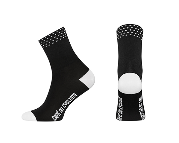 Café du Cycliste Dotted Socks