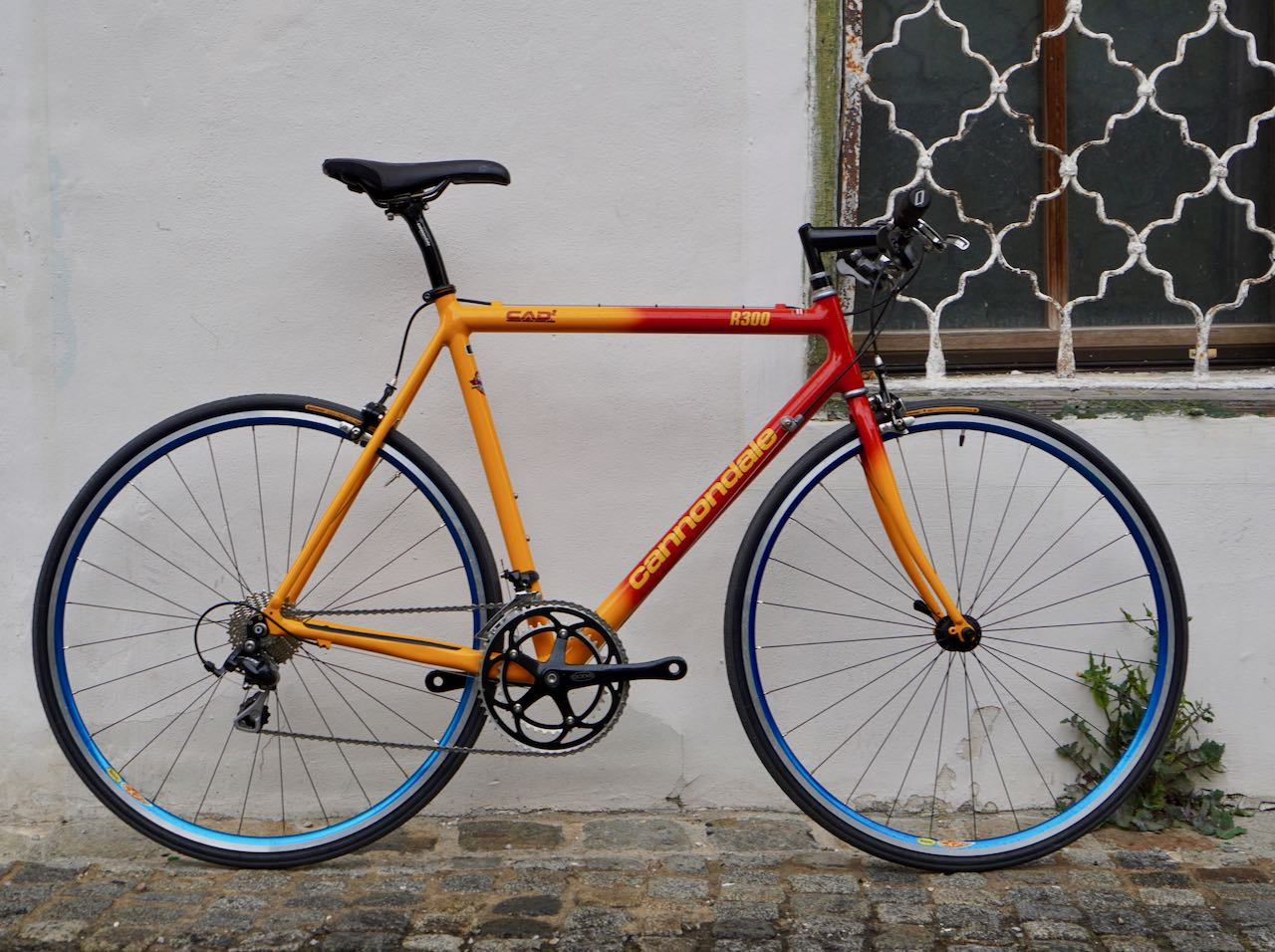 028d1e5bb59 Cannondale CAAD2 R300 red-orange