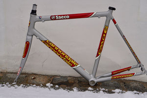 Impeccable new Cannondale Saeco Frameset