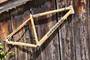 Specialedition: Wood Frame Cannondale CAAD