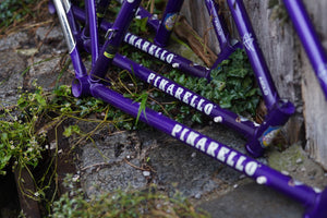 New Pinarello Asolo frames darkpurple without forks