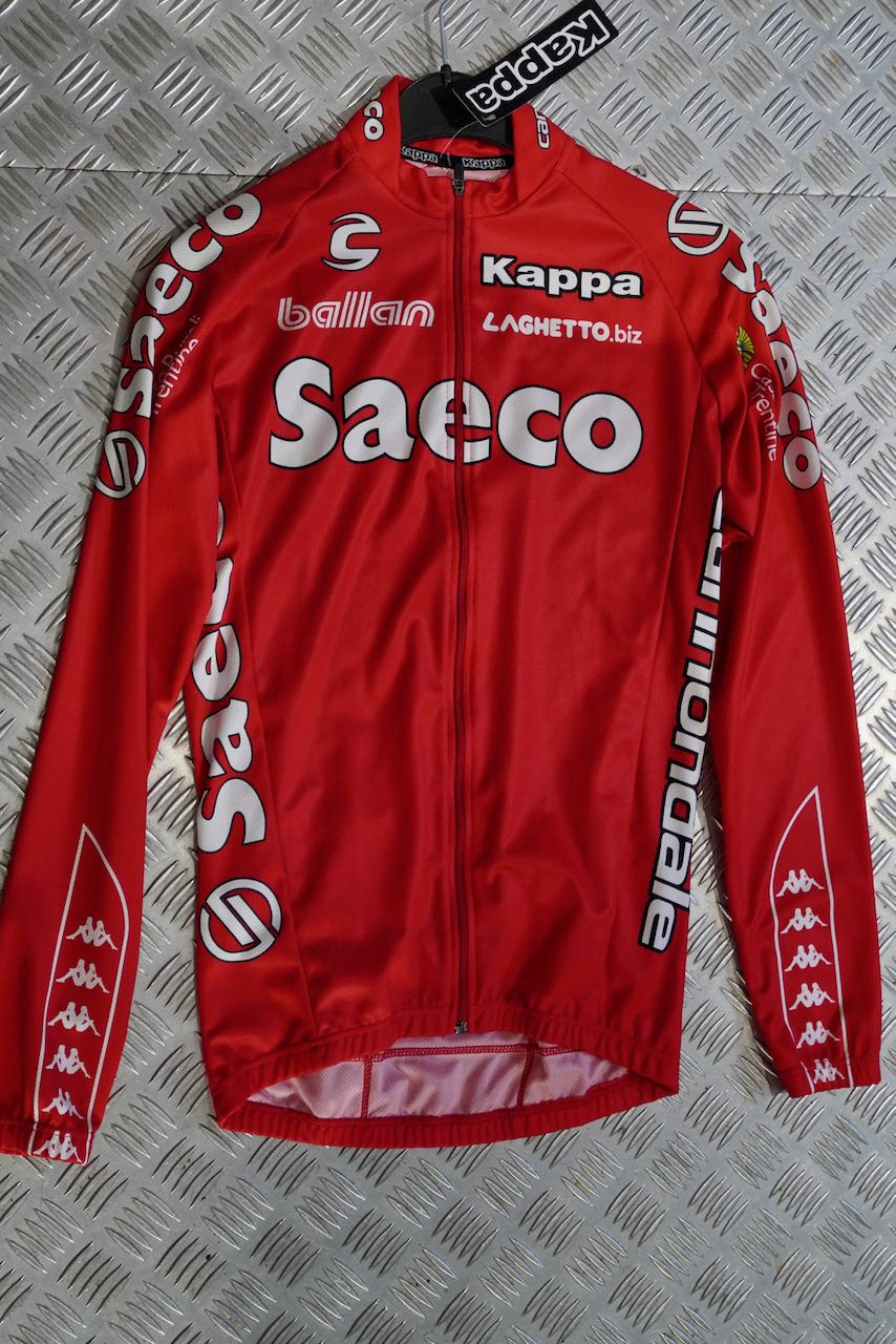 Cannondale Jersey Saeco Longsleeve