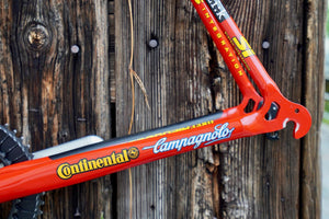 Cannondale Team Saeco frame and crank