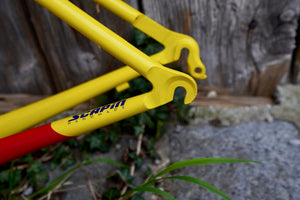 Very lightweight steel frame from Scapin