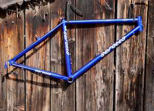 Serotta ATX frame in blue