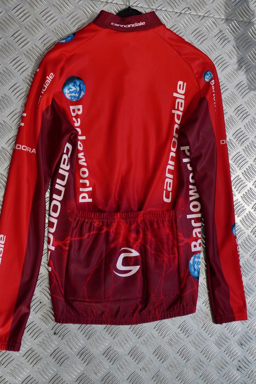 Cannondale Barloworld Jersey Heavyweight Road Team