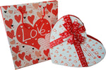 Heart Love Gift Box with Paper Bag