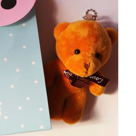 Mini Hanging Teddy Bear