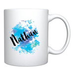 Watercolor Name Mug