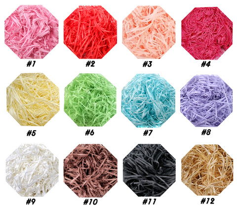 40g Colorful Lafite Shredded Paper