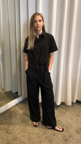 Black Lenny Jumpsuit