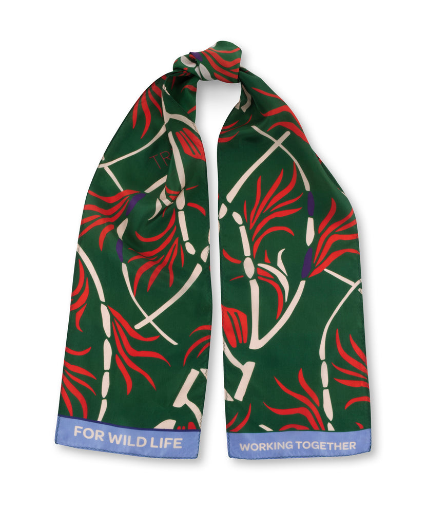 The Green Pattern Scarf