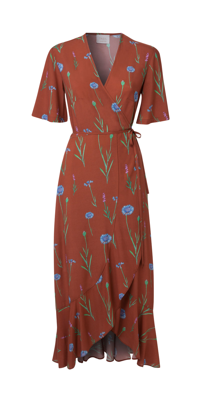 Ginger Garden Printed Eva Dress