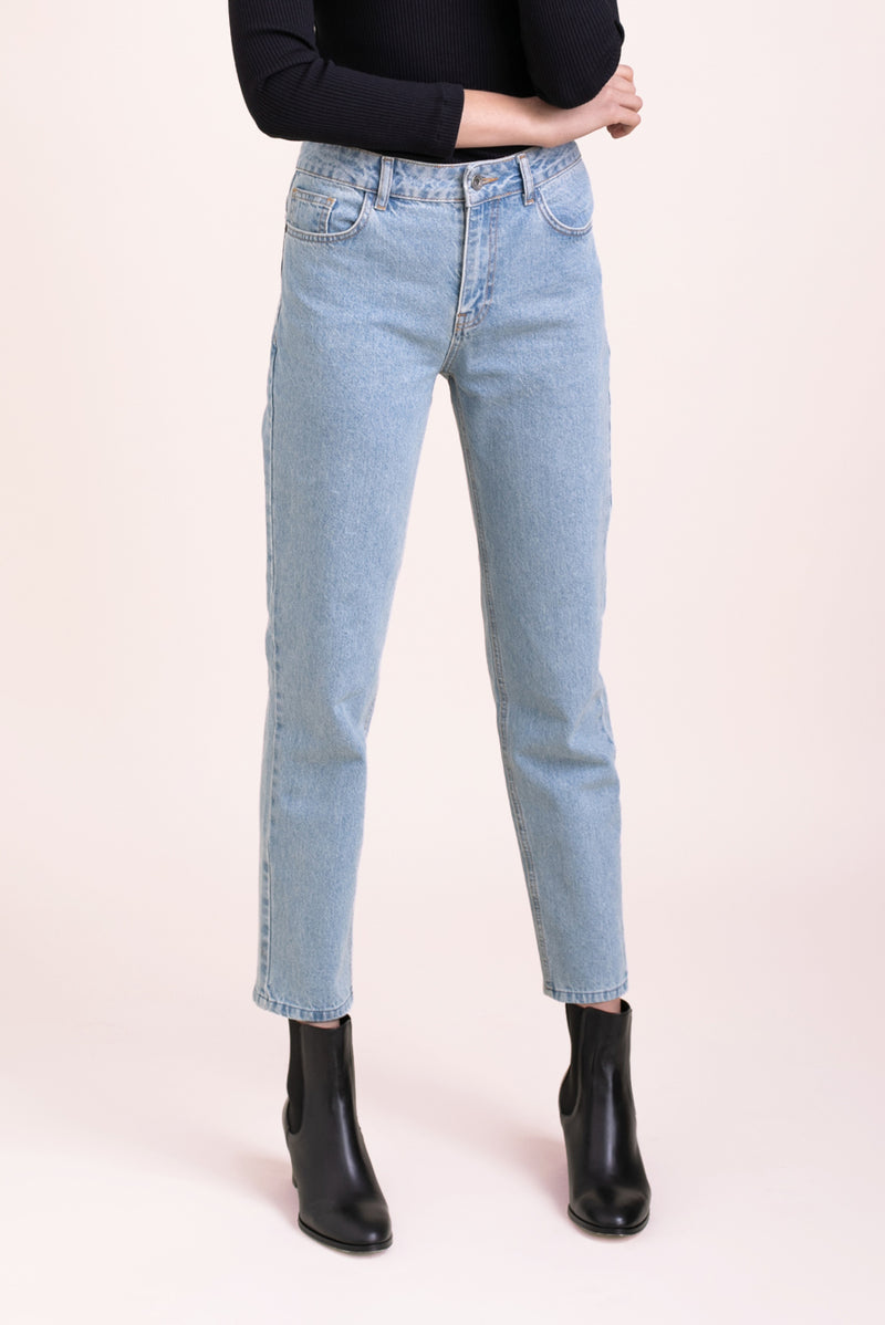 Light Blue Straight denim