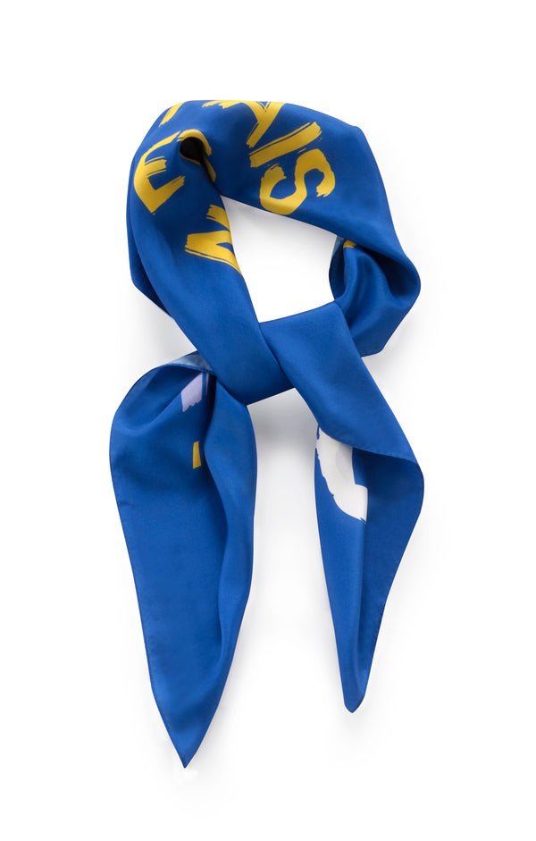Blue TLV MRS Scarf