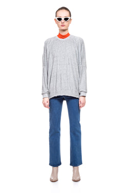 Grey Shira oversize Sweatshirt