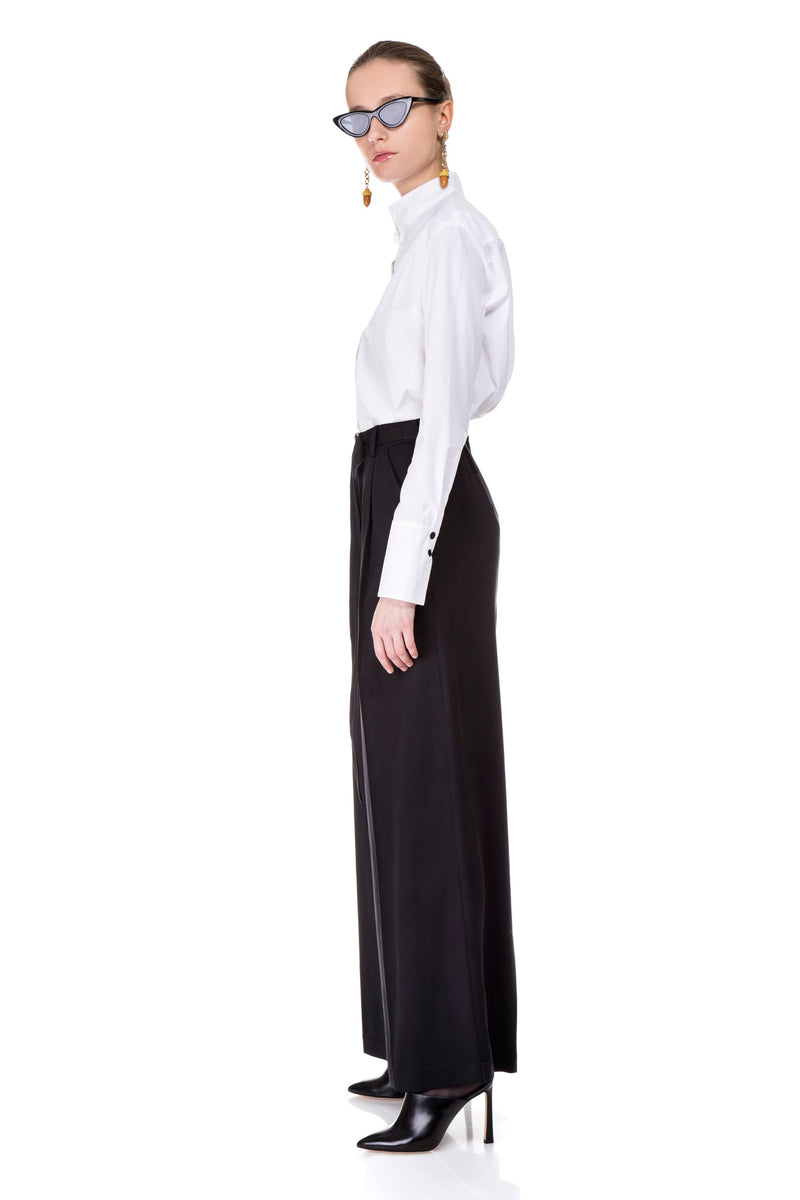 Black Alex Wide Pants