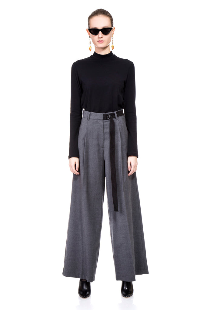 Grey Alex Wide Pants