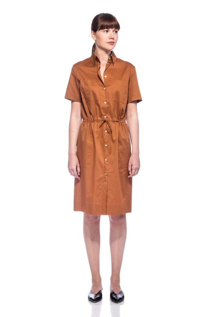 Brown Polly Dress