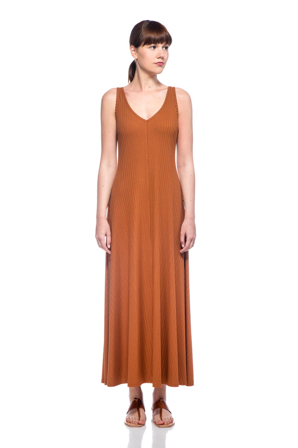 Brown Loulou Dress