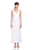 White Loulou Dress
