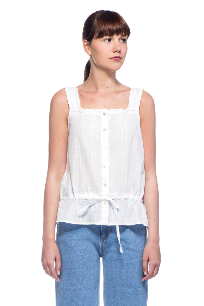 White Lolla Top