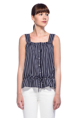 Blue Stripes Lolla Top