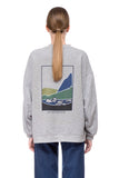 Grey Landscape Sweatshirt