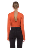 Orange Dani Turtle Neck