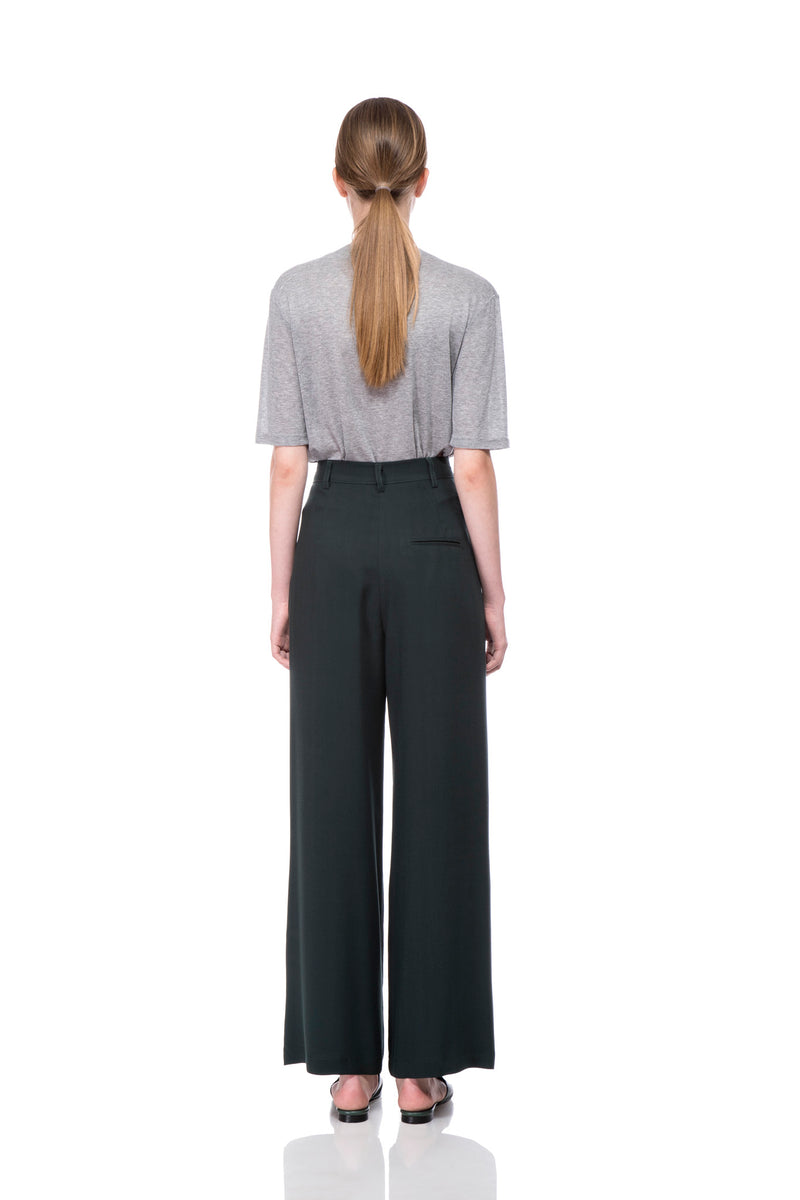 Green Marion Wide Pants