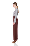 Bordeaux Marion Wide Pants