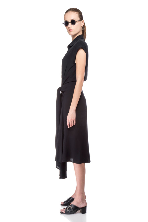 Black Robin Dress