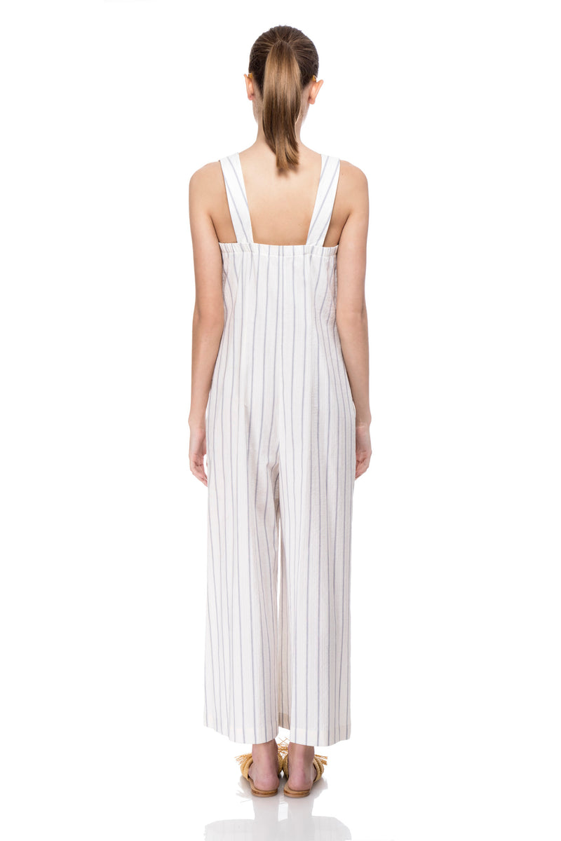 Stripes Drew Jumpsuit