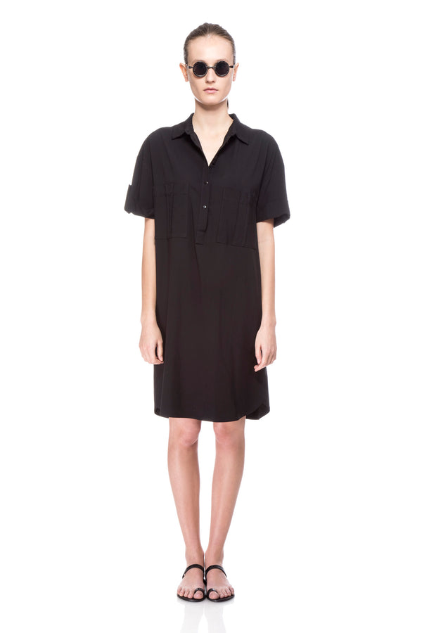 Black Polly Dress