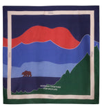 The Blue Landscape Scarf