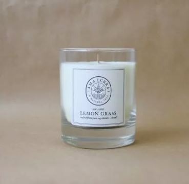 Lemon Grass Natural Oil Candle