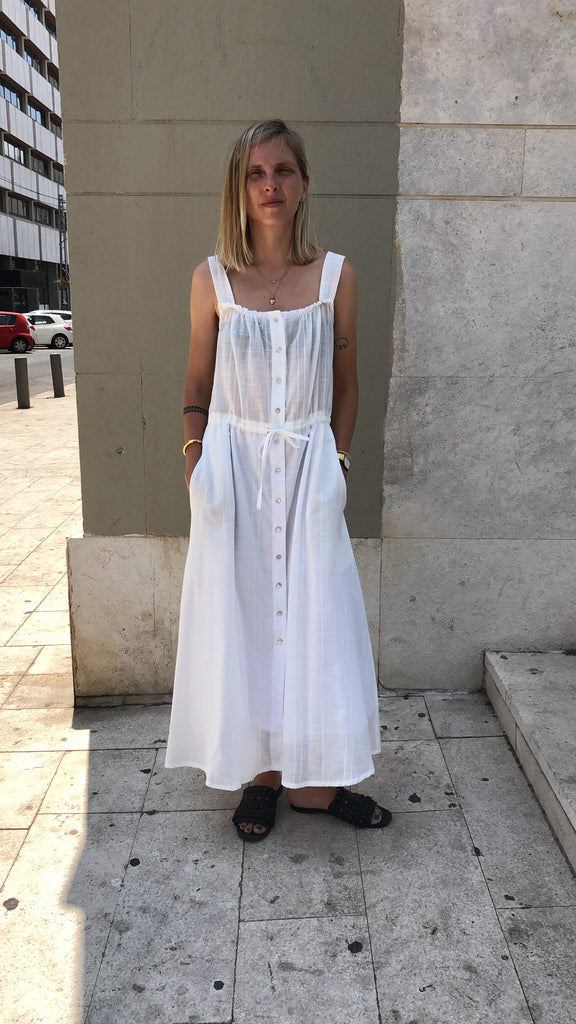 White Lolla Dress