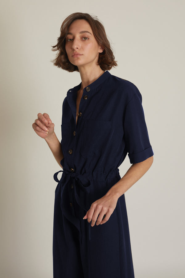 Dark Blue Ally Jumpsuit