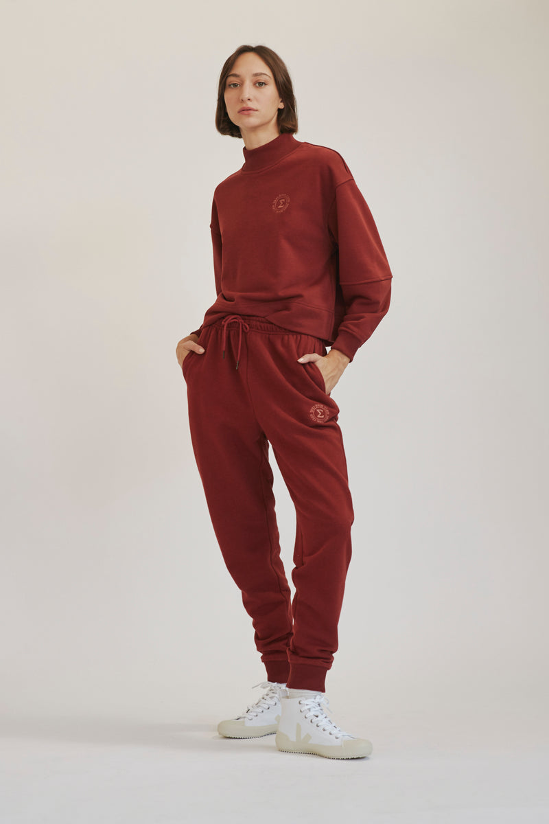Bordeaux Track Pants X Story