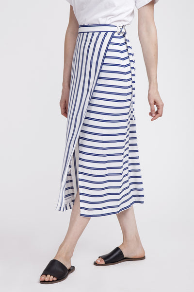 Karly Stripes Skirt