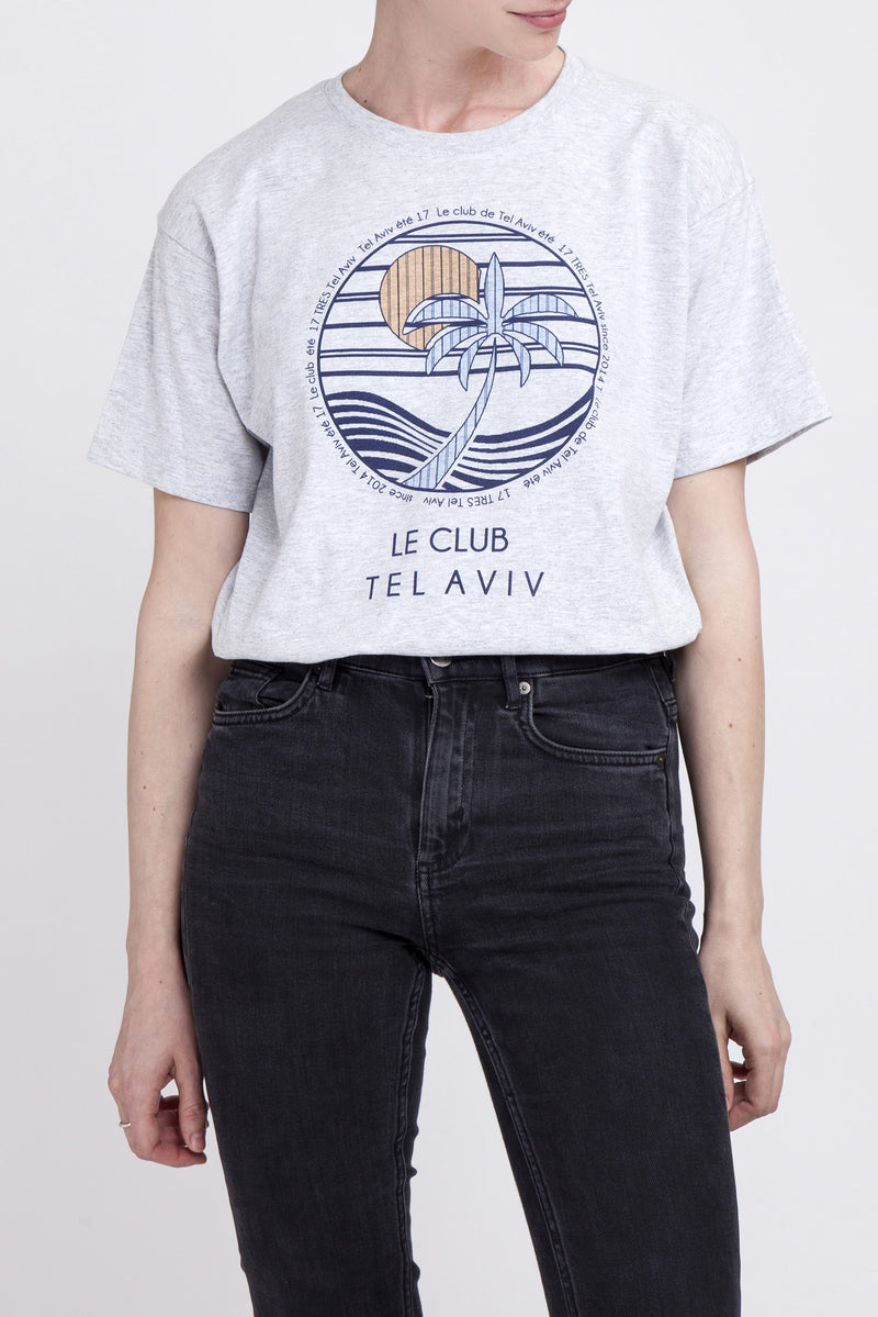 Grey Le club T shirt