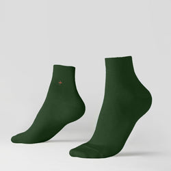 Ankle ribbed socks - Kings Court