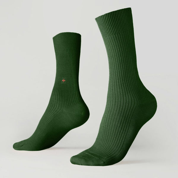 Crew ribbed socks - Kings Court