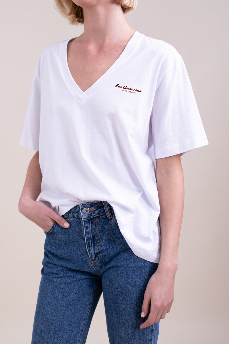 White Lovers Oversize T