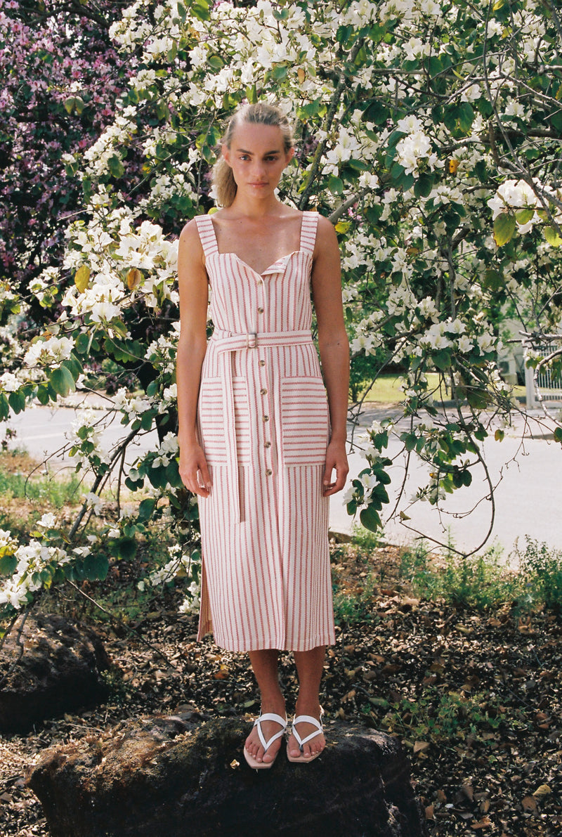 Striped Drew Dress