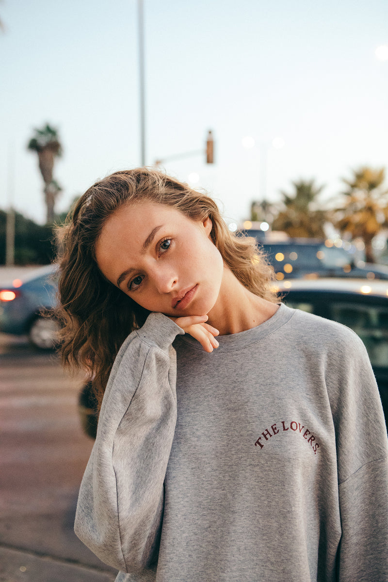 Grey Lover oversize Sweatshirt