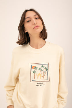 Cream Camels Sweatshirt